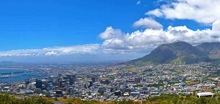 table mountain Cape Town Afrique du Sud pour AVI International