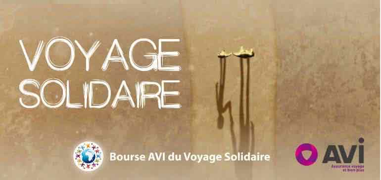 Bourse AVI 2016 solidarité international