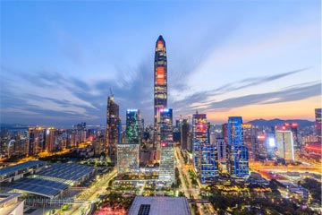 China Shenzhen with AVI travel insurance
