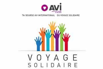 Bourse AVI International Voyage solidaire 2017
